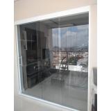 empresa de cortina de vidro para porta localização Moema