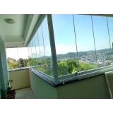 empresa de cortina de vidro sacada localização Ipiranga