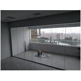 empresa de cortinas de vidro para sala Moema