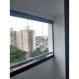 empresa para envidraçamento de sacada de apartamento pequeno Vila Mariana