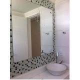 espelho decorativo para banheiro Vila Lucinda