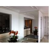 espelho decorativo sala de jantar Itaim