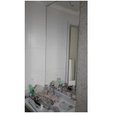 espelho para banheiro com moldura valores Jardim do Mar