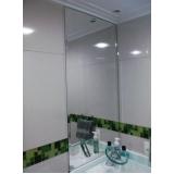 espelho para banheiro pequeno valores Jardim Pitangueiras
