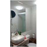 espelho redondo para banheiro valores Jardim do Mar
