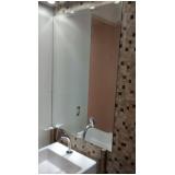 espelho redondo para banheiro Vila Lucinda
