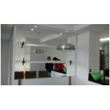 espelhos sala de jantar apartamento Vila Pires