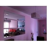 espelhos sala de jantar apartamentos pequeno Vila Bastos