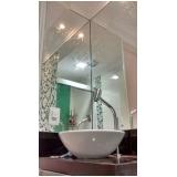 fabricante de espelho sala de jantar apartamento pequeno Jardim Utinga