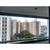 fechamento de varanda com vidro de correr de apartamento orçamento Vila Nova Conceição