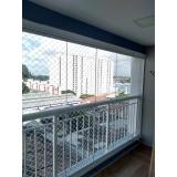fechamento de varanda com vidro de correr de apartamento Jabaquara