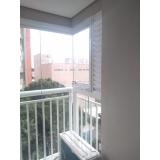 fechamento de varandas com vidro de correr de apartamento Cursino
