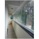 fechamento de varandas com vidro de correr para casa Vila Mariana