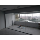 fechamento de varandas com vidro em apartamento Vila Nova Conceição