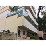 fechamento de varandas com vidro residencial Campo Belo