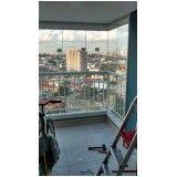 fechamento de vidro para varanda em Santo André