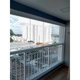 fechamento varanda cortina de vidro Jardim do Parque