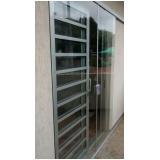fornecedor de porta de vidro de correr 1 folha Parque dos Pássaros
