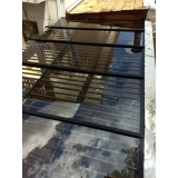 instalação de cobertura de vidro automatizada Campo Belo
