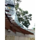 instalação de cobertura de vidro com abertura São Bernardo do Campo