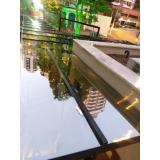 instalação de cobertura de vidro fumê Ipiranga