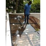 instalação de cobertura de vidro garagem Santo André