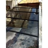 instalação de cobertura de vidro quintal Saúde