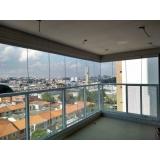 instalação de janela grande de vidro Jardim das Maravilhas