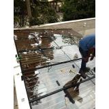 onde compro cobertura de vidro com abertura Santo André