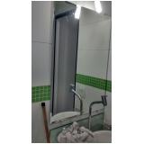 onde encontrar espelho para banheiro com moldura Vila Lucinda
