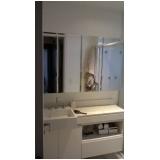 onde encontrar espelho para banheiro pequeno Jardim Nações