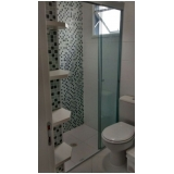 onde encontro box vidro banheiro Vila Valparaíso