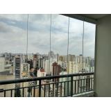 onde fazer fechamento de varanda com vidro em apartamento Diadema