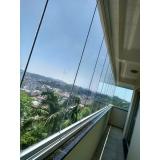 onde fazer fechamento de varanda com vidro residencial Saúde