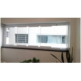 onde tem empresa de cortina de vidro para janela Vila Olímpia