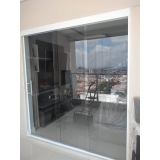 onde tem empresa de cortina de vidro para sala Santo André