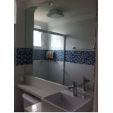 orçamento de espelho em banheiro Bairro Campestre