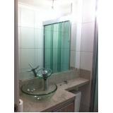 orçamento de espelho para banheiro com moldura Vila Alice
