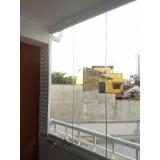orçamento de vidro para sacada de apartamento Ipiranga
