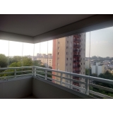 orçamento de vidro para sacada para apartamento Vila Olímpia