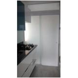 porta com vidro Vila Floresta