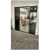 porta de vidro de correr 1 folha Ipiranga