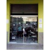 porta de vidro para banheiro em São Caetano do Sul