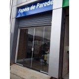 porta de vidro em Santo André