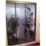 porta deslizante de vidro em Diadema
