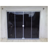 portas de vidro de correr para sala Vila Lucinda