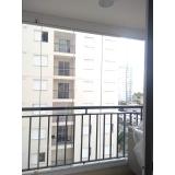 quanto custa fechamento de varanda com vidro de correr de apartamento Vila Mariana