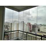 quanto custa fechamento de varanda com vidro em apartamento Itaim