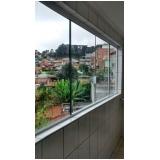 quanto custa fechamento de varanda com vidro fumê Moema