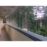 quanto custa fechamento de varanda com vidro residencial São Bernardo do Campo